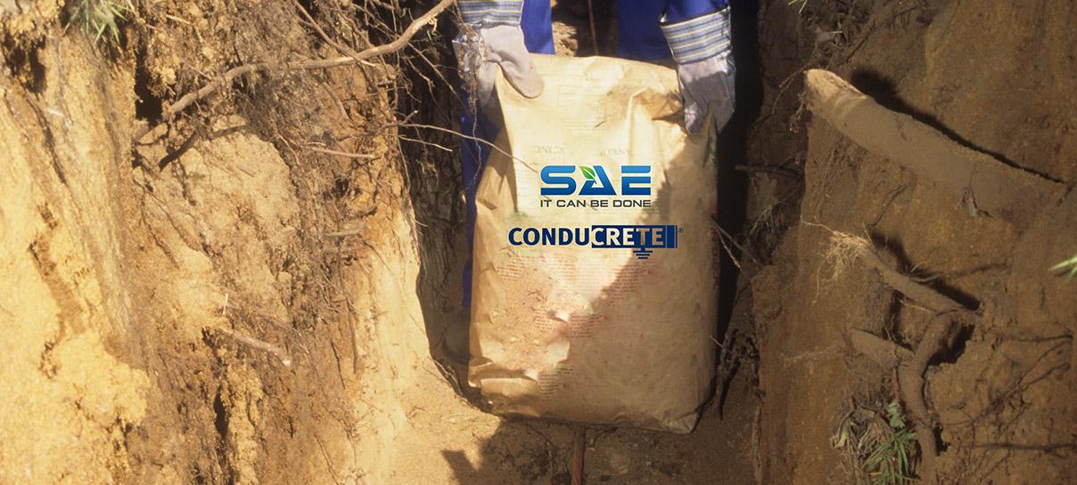 Bag of Conducrete | SAE Inc.