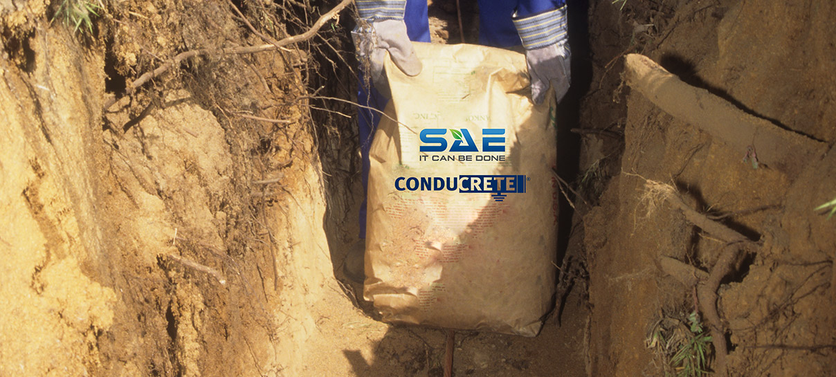 Bag of SAE Conducrete | Grounding Products | SAE Inc.
