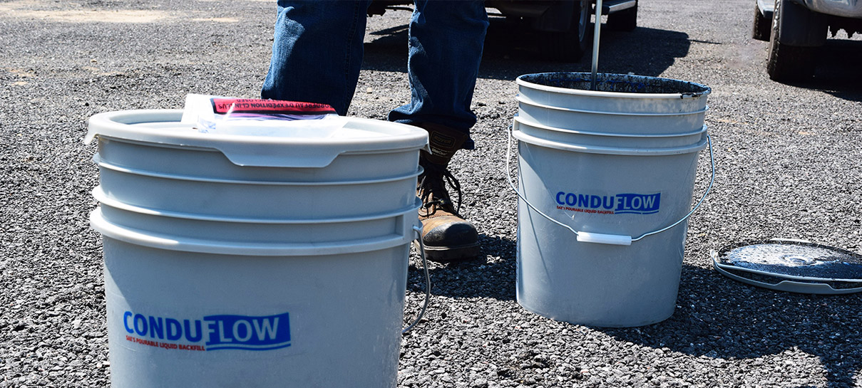 Conduflow being mixed | SAE Inc.