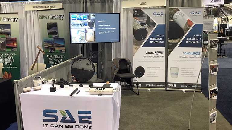 SAE-IEEE 2018 - Booth